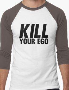 Kill Your Ego | BLACK. Men's Baseball ¾ T-Shirt