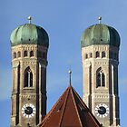 "Munich Cathedral ""Frauenkirche"" by Francis  McCafferty"