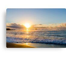 Sunrise at Millendreath Canvas Print