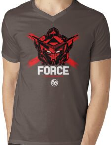 FORCE SIGMA RED Limited Edition Mens V-Neck T-Shirt