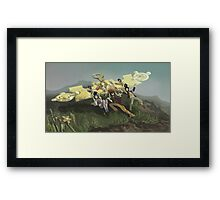 Mental Glider Framed Print
