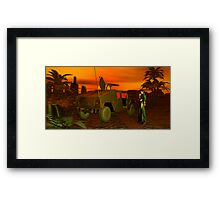 Adventurous Fantasy Scout Framed Print
