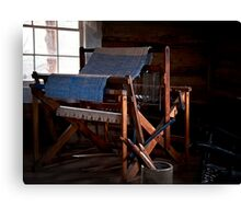 And Weave These Threads Canvas Print
