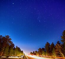 Starry Night Into The Light by Bo Insogna