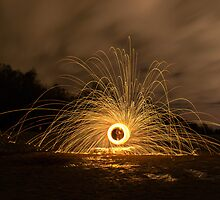 Reservoir Beach Fire by marting04