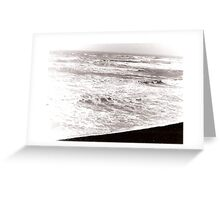 Sea at Brighton Greeting Card