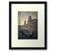 Piazza Navona Framed Print