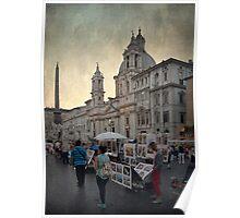 Piazza Navona Poster