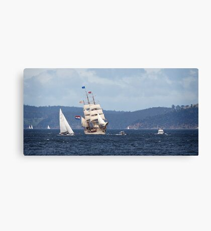 Sailing Ship Europa #7 Canvas Print