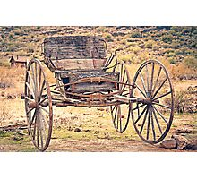 The Buckboard Bounce where West is West Vintage Photographic Print