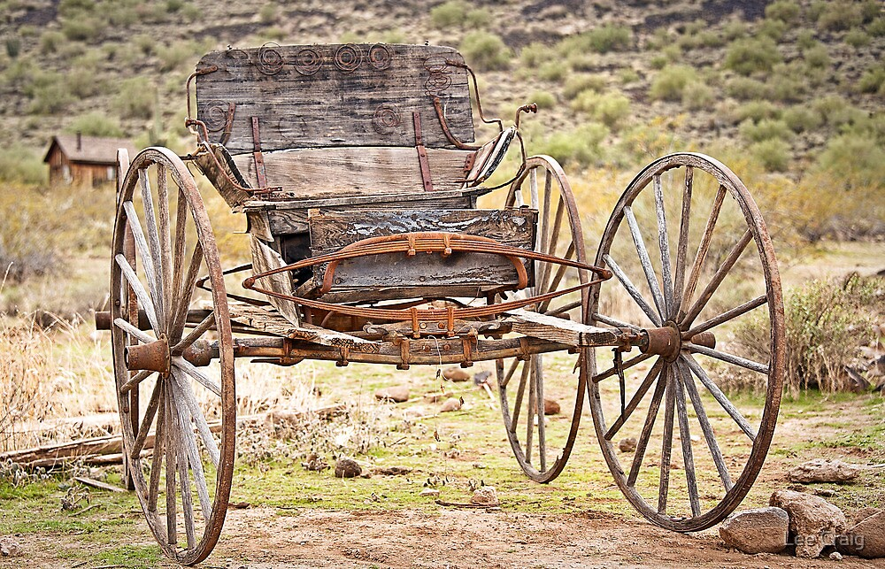 The Buckboard Bounce where West is West by Lee Craig