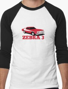 Zebra 3 Men's Baseball ¾ T-Shirt