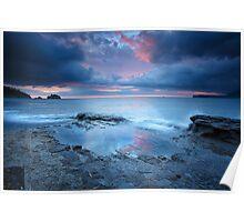 Tessellated Pavement Sunrise, Eaglehawk Neck, Tasmania #11 Poster