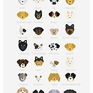 Dog's Breeds by OneAlice
