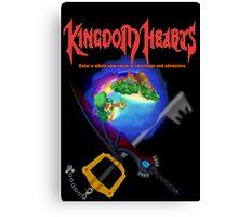 Kingdom Hearts/Final Fantasy Design Canvas Print