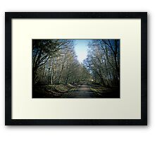 Path to anywhere Framed Print