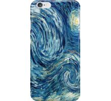 Detail of Vincent Van Gogh's Starry Night (1889) iPhone Case/Skin