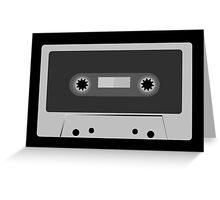 Retro Vintage Cassette Tape - Cool Music T Shirt Prints Stickers Greeting Card