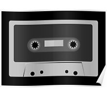 Retro Vintage Cassette Tape - Cool Music T Shirt Prints Stickers Poster