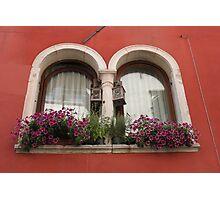 Venetian Windows Photographic Print