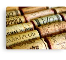 Wine Cork Photography Canvas Print