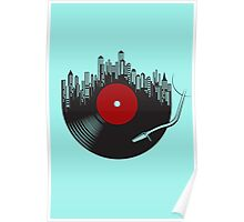 Turntable Disc Poster