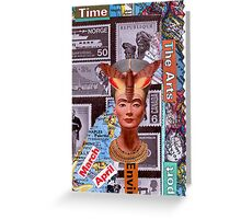 Time Travelers Stamp Card 2. Greeting Card