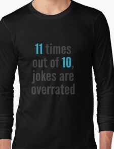 Overrated - Statistics Long Sleeve T-Shirt