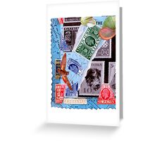 Time Travelers  Stamp Card 3. Greeting Card
