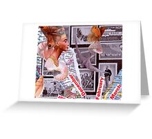 Time Travelers Stamp Card 4. Greeting Card