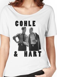 True Detective Cohle & Hart Women's Relaxed Fit T-Shirt