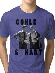 True Detective Cohle & Hart Tri-blend T-Shirt