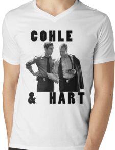 True Detective Cohle & Hart Mens V-Neck T-Shirt