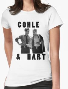 True Detective Cohle & Hart Womens Fitted T-Shirt