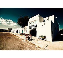 Amargosa Opera House, Nevada State Line Photographic Print