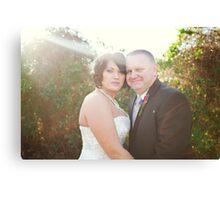 Mr. & Mrs.  Canvas Print