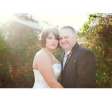 Mr. & Mrs.  Photographic Print