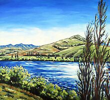 Lake Hayes, Queenstown NZ by Ira Mitchell-Kirk