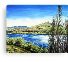 Lake Hayes, Queenstown NZ Canvas Print