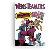 News Team Assemble! Metal Print