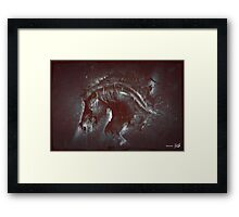 DARK HORSE Framed Print