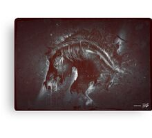 DARK HORSE Canvas Print