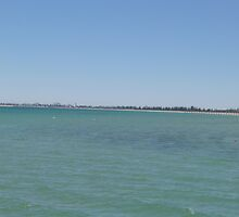 Round to Outer Harbor, from Semaphore Jetty, Adelaide coast, S.A. by Rita Blom