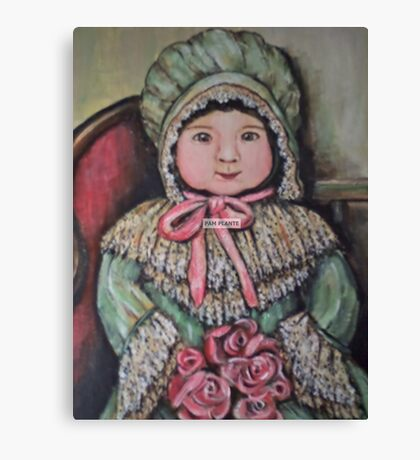 VICTORIAN DOLL Canvas Print