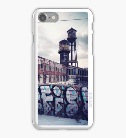 DETROIT EASTERN MARKET iPhone Case/Skin