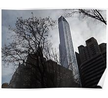 One57 Skyscraper, Central Park South, New York City Poster