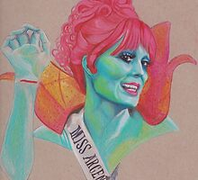 miss argentina by artbyarielle