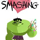 Hulk Think You Smashing by tinymallet