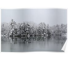 Winter Reflections Poster