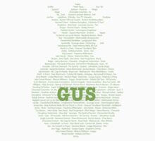 Gus's Nicknames (Psych) One Piece - Short Sleeve